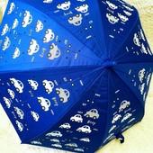 Вау! Волшенбные зонтики меняющие цвет под дождем. Один на выбор!