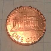 Монета США 1 цент 1996