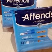 Памперсы-трусы для дорослих Attends Underwear р.L (упаковка 18шт.)