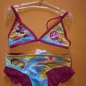 Яркие раздельные купальники smile luna 116рост ☝️,6лет розовый