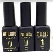 Набор База+топ+топ матовый Милано по 12мл