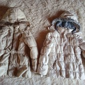 Две куртки для дачи и двора 122-128р
