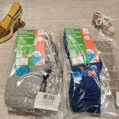 Германия!!! Лот из 6 коттоновых носков со Смурфами для мальчика! 23&26 размер!
