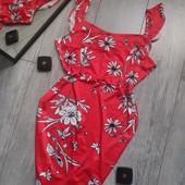 Лёгкое и яркое платье на лето