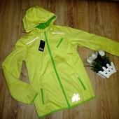 Куртка деми софтшел softshell crivit с капюшоном размер р. 148/152