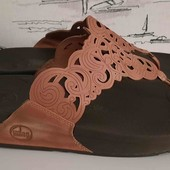 шльопанці Flip-flop натуральна шкіра 42 розмір
