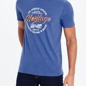 Стильная мужская футболка от Easy, большой размер 62/64