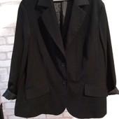 Пиджак женский, большой размер, ПОГ 62