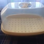 Пароварка для микроволновки для здорового питания и стерилизации банок и детской посуды