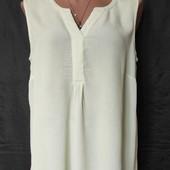Светло-фисташковая блузочка из вискозы, грудь 110-116