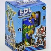Новинка lol Трансформер сюрприз Робот в капсуле, хороший подарок, много лотов.