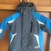 Kуртка, весна, внутри флис, р. 5 лет 110 см, Next. состояние отличное