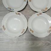 набор глубоких тарелок 4 шт диаметр 24см