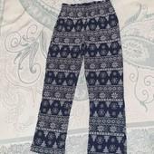 Штаны пижамные домашние 5-6лет