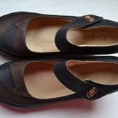 Туфли женские на танкетке, стелька 25,5 см