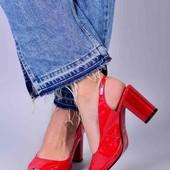 Стильные женские туфли весна-лето