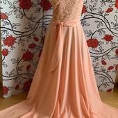 Платье в пол 46-48
