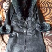 кожаные пальто трансформер 2в1