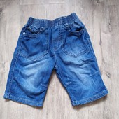 Джинсовые шорты на 4-5 лет в отличном состоянии