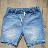 Джинсовые шорты нм на 7-8 лет в отличном состоянии