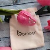 Новое кольцо бренда Bamoer 18 р, серебро 925 пробы.