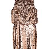 H&M_Платье с пайетками_36р_О(тм-1125-н-15_0,48)