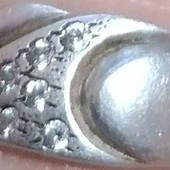 Серебряное колечко 925 пробы 16 размер