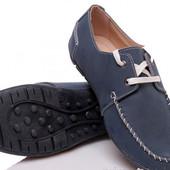 Натуральная кожа! Подростковые туфли-мокасины