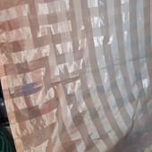 2 персико-бежевые занавески 150*240(высота)