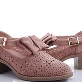 Винтажные туфли-босоножки