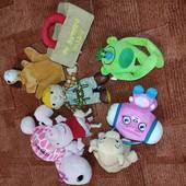 Мягкие игрушки одним лотом 8шт