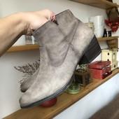 Кожаные ботинки.супер качество!!!на ножку 24-24.5см