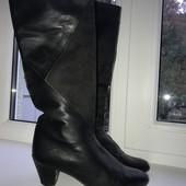 Высокие кожаные сапоги италия vero cuoio оригинал. Укр почта скидка -5 %. Смотрите мои лоты