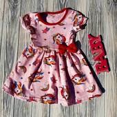 Отличные летние платья Единорожка