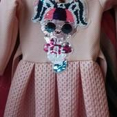 Платье с Лолой раз. 98-104