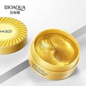 Bioaqua Гидрогелевые патчи для глаз с коллагеном и частицами золота Eye Mask Hydrating 60 шт