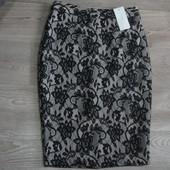 Шикарная юбка-карандаш New look Uk10 Eur38 Сток! Бесплатная укрпочта!