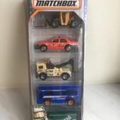 Matchbox дорогой подарочный набор City Service от Mattel (5шт.машинок)!!!!!Лимитированный выпуск!!!