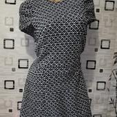 Эксклюзивное платье, фактурный плотный трикотаж на дайвинге