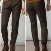 Хлопковые брюки Massimo Dutti