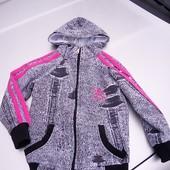 Стоп!! Фирменная удобная яркая натуральная мастерка от Adidas