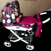 Детская коляска для кукол Adbor Viki для детей от 3 лет, Доставка УП в подарок