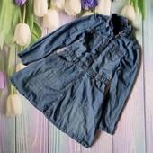 Вау! Обалденное джинсовое платьице на 9/10 лет