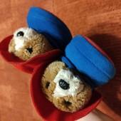 Тапочки мишка Падиннтон от Marks&Spenser 9р/27р до 19см