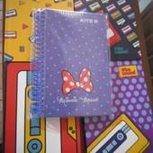 Любой блокнот Кite на выбор один .Большой формат,как тетрадь,80 стр.Картонная обложка,качество-супер