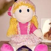Мянкая плюшевая кукла
