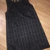 Чёрное вечернее нарядное платье Next размер 14