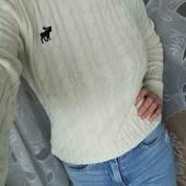 високі скіні + светрик