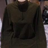 Эксклюзивный тёмно зелёный под горло хаки цвета стречь свитерок.Four Seasons.xxl,3xl,4xl.Лотов много