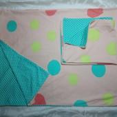 TCM Tchibo Германия Шикарный комплект трикотажного постельного белья 2ед. 100% коттон